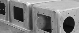 Custom aluminum, brass, coper, steel, and stainless steel seamless enclosures