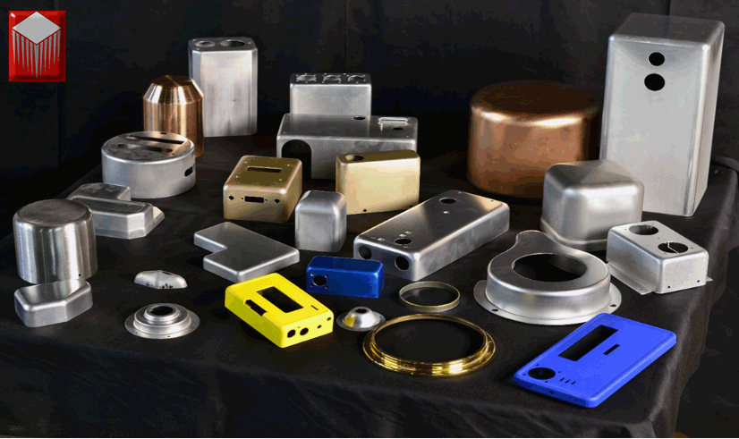 Norpin Deep drawn metal enclosures and metal boxes