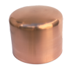 deep drawn fabricated copper enclosures caps