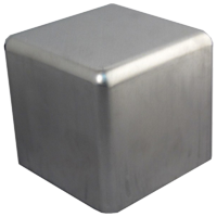 fabricated aluminum square seamless box enclosure